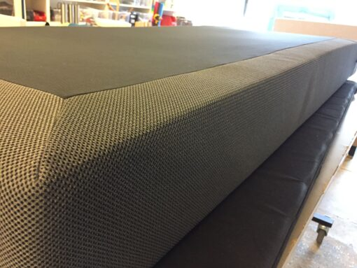Vendbar spingmadras - 2 stk. 5 zone pocket 90 x 200 cm.