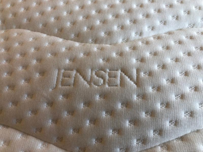 Jensen Softline III naturlatex topmadras 90 x 200 cm.