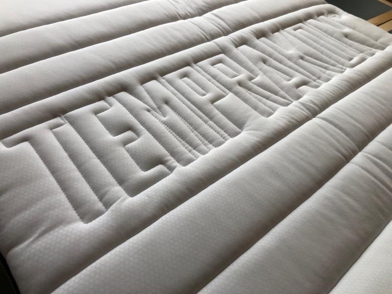 Temprakon Varmeregulerende Latex top 105 x 200 cm.