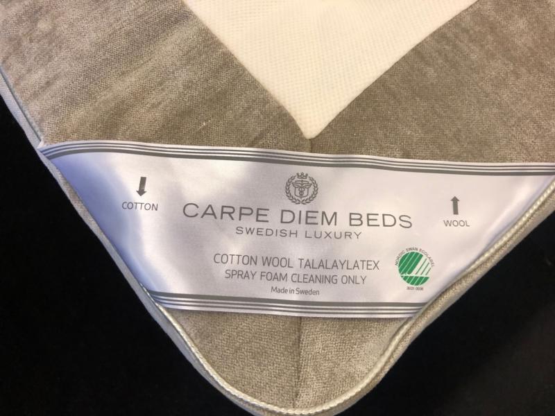 Carpe Diem Wool Light Grey 180 x 210 cm.