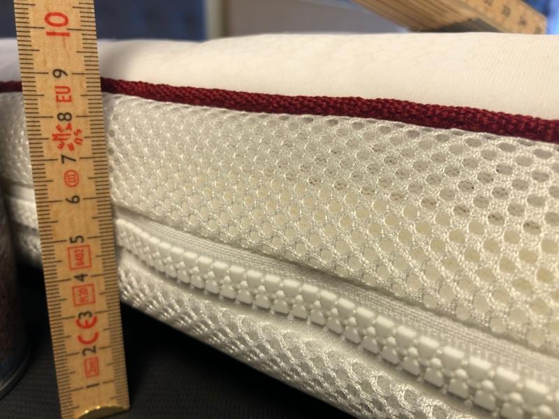 "OUT LAST ""MONSTER TYK"" (10 cm.) klimaregulerende latex luksus top - flere mål."
