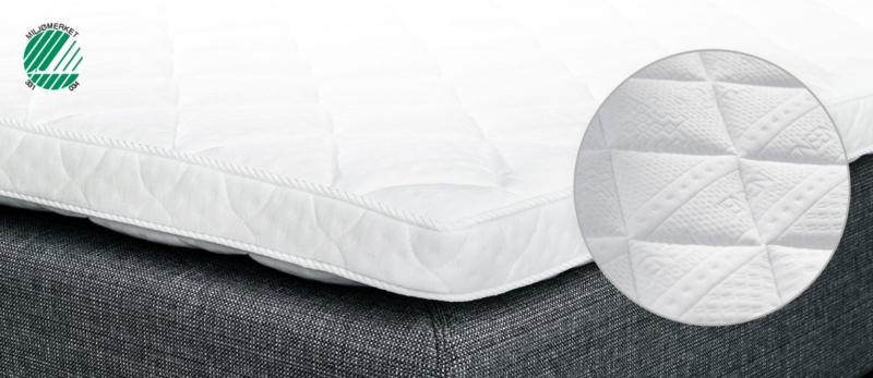 Jensen Softline III Latex topmadras 160 x 200 cm.